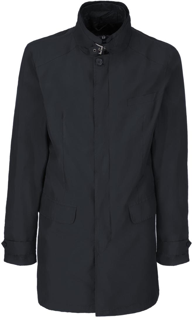Куртка мужская Geox, цвет: темно-синий. M8220PT2461F4386. Размер 56 пуховик мужской geox цвет темно зеленый m8225bt2449f3179 размер 56