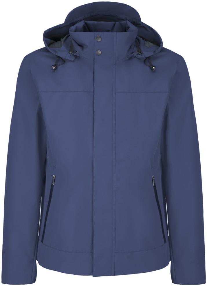 Куртка мужская Geox, цвет: синий. M8221DT2460F4025. Размер 54M8221DT2460F4025Мужскаякуртка Geoxвыполнена из высококачественного материала. Модель с воротником-стойкой и длинными рукавами застегивается на застежку-молнию с ветрозащитной планкой. Спереди расположены два кармана на молнии.Капюшон пристегивается к куртке молнией. Объем капюшона регулируется шнурком-кулиской со стопперами.Эта стильная куртка послужит отличным дополнением к вашему гардеробу!