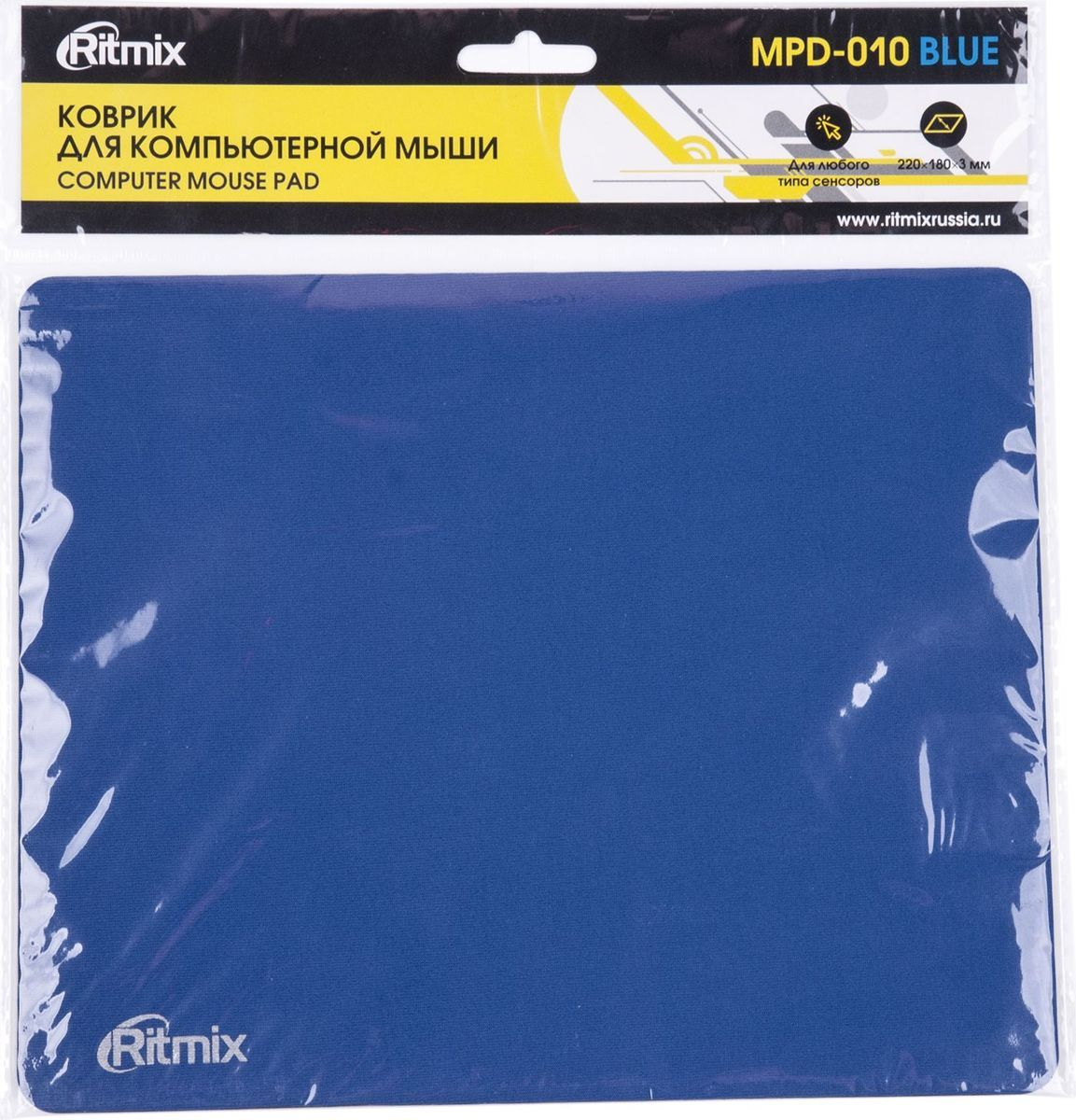 Ritmix MPD-010, Blue коврик для мыши все цены