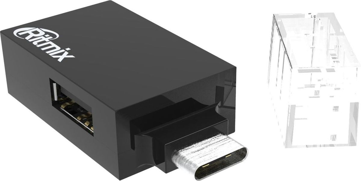 Ritmix CR-3391, Black USB-концентратор ritmix cr 2404 black usb концентратор