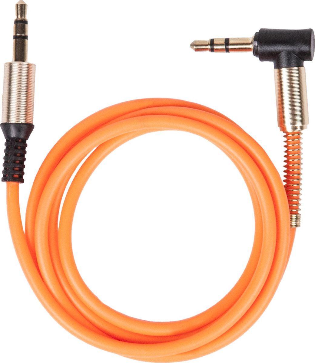 Ritmix RCC-247, Orange кабель Jack 3,5 mm - Jack 3,5 mm угол 90 (1 м)