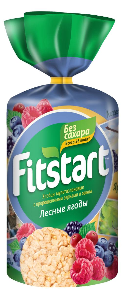 Fitstart Хлебцы мультизлаковые лесные ягоды, 100 г хлебцы томатные