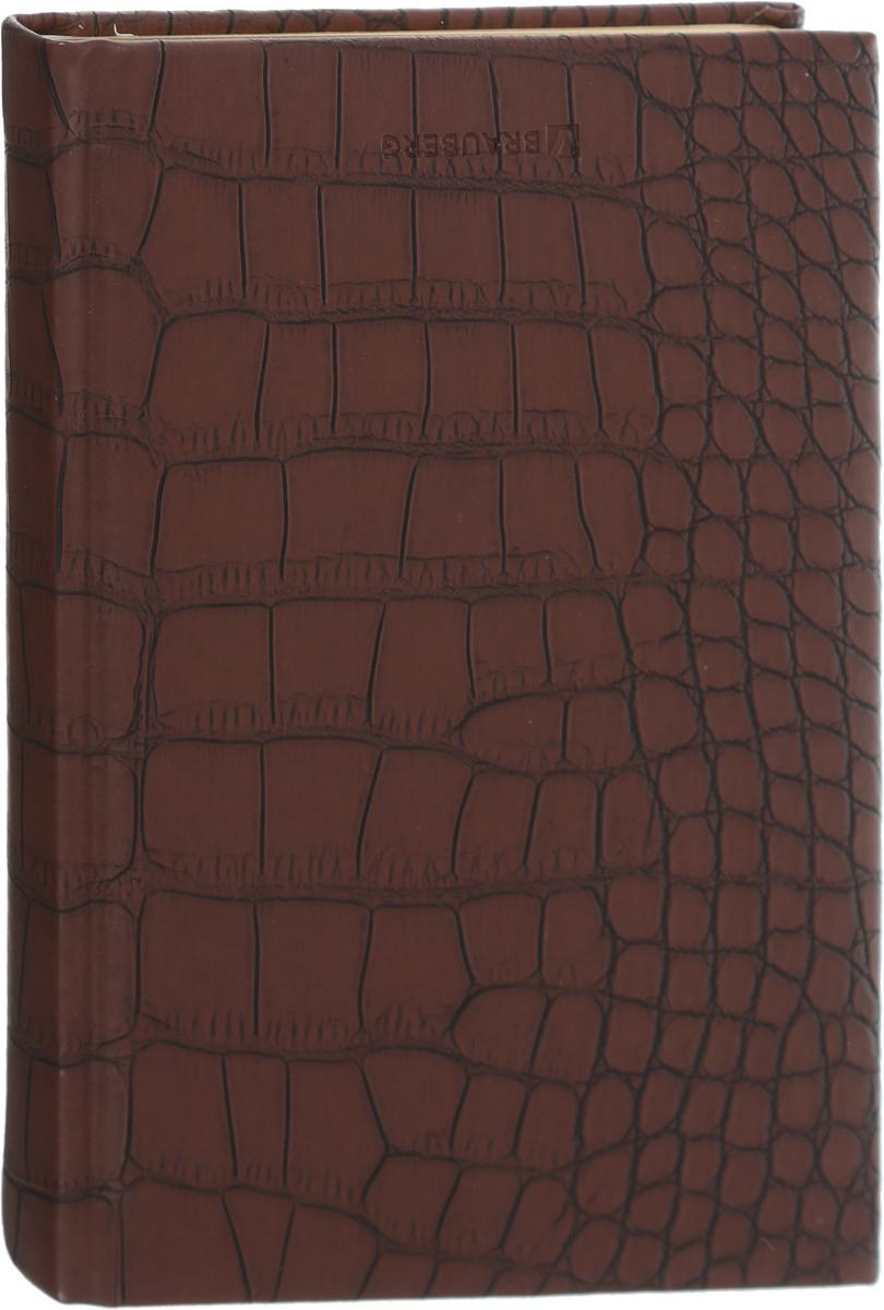 Brauberg Ежедневник Cayman недатированный 160 листов цвет коричневый формат A5 maestro de tiempo ежедневник estilo недатированный 288 листов цвет синий формат a5