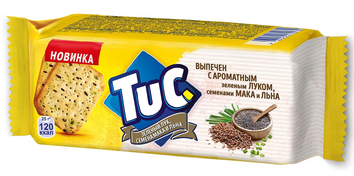 Тuc крекер с семенами мака, 100 г мини крекер бодрость с укропом и сметаной 150г