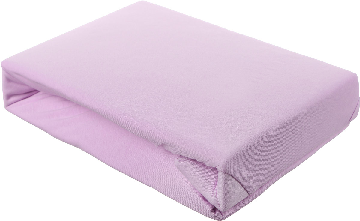 Простыня на резинке ЭГО, цвет: розовый, 200 х 200 см скатерть quelle эго 1024295 120х150