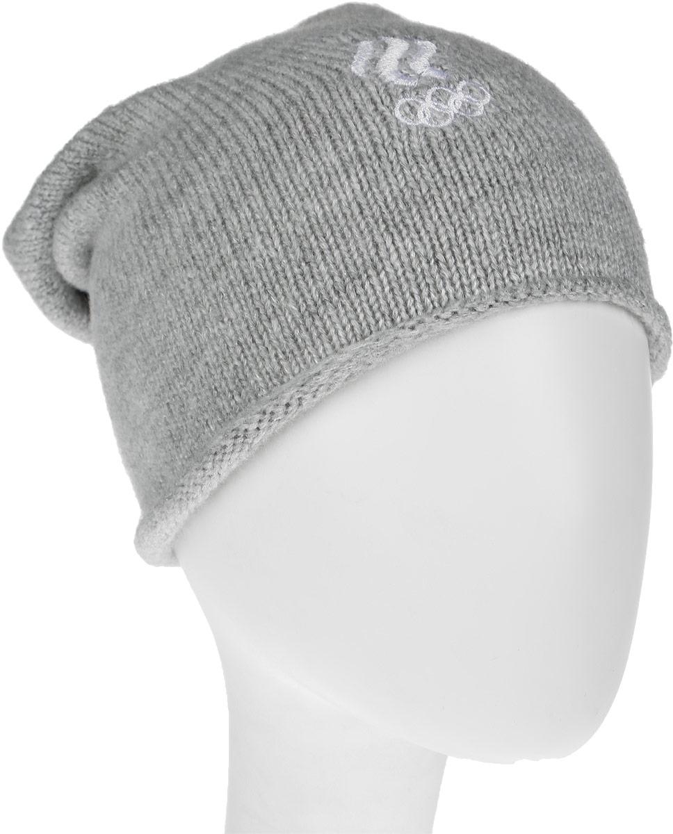 Шапка ZASPORT, цвет: светло-серый. OUA217-002/001-LGR. Размер универсальныйOUA217-002/001-LGR