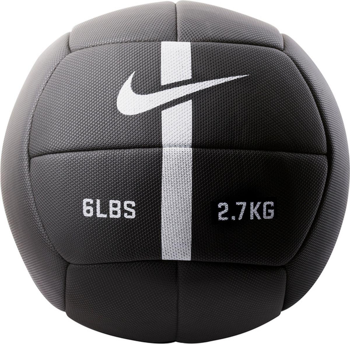 Мяч для фитнеса Nike Strength Training Ball, цвет: черный, белый. N.EW.04.010.NS мяч баскетбольный nike skills цвет пурпурный черный белый размер 3