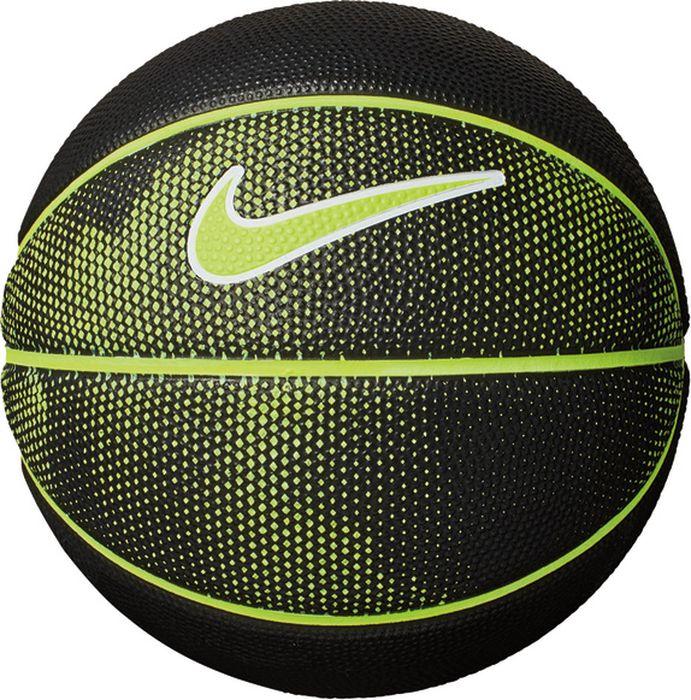 Мяч баскетбольный Nike Skills, цвет: черный, желтый, белый. Размер: 3 мяч баскетбольный nike skills цвет пурпурный черный белый размер 3