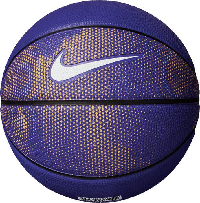 Мяч баскетбольный Nike Skills, цвет: пурпурный, черный, белый. Размер: 3 мяч баскетбольный nike skills цвет пурпурный черный белый размер 3