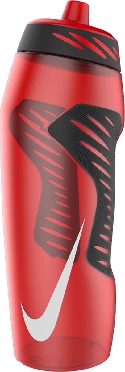 Бутылка для воды Nike Hyperfuel, цвет: красный, черный, белый, 946 млN.OB.A6.636.32Экологически чистая Бутылка для воды Nike Hyperfuel оснащена герметичным носиком с клапаном, который обеспечивает быстрый поток воды во время питья и предотвращает утечку, когда бутылка не используется. Прозрачный корпус позволяет отслеживать расход жидкости во время тренировки. Эргономичная форма и накладки для лучшего сцепления, размещенные в стратегически важных местах, обеспечивают удобство использования. Гибкий материал обеспечивает повышенную сжимаемость для более быстрого потока воды.Не содержит BPA, 946 мл.
