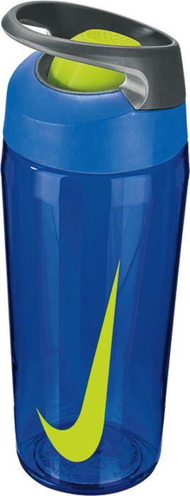 Бутылка для воды Nike TR Hypercharge Rocker, цвет: синий, серый, желтый, 473 млN.OB.E7.490.16Экологически чистая Бутылка для воды Nike TR Hypercharge Rocker. Сдвижной механизм открытия/закрытия одной рукой. Комфортное большое отверстие. Удобная эргономичная ручка. Надежная ударопрочная конструкция. Объем 473 мл.
