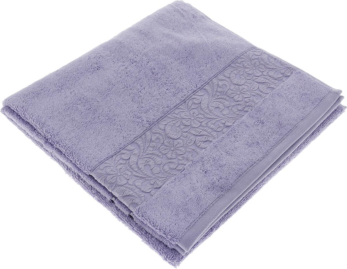 Полотенце Issimo Home Valencia, цвет: фиолетовый, 70 x 140 см00000005583Полотенца из бамбука только издали похожи на обычные. На самом деле, при первом же прикосновении Вы ощутите насколько эти полотенца мягкие и нежные! Таким полотенцем не нужно вытираться - только коснитесь кожи - и ткань сама все впитает! Такая ткань впитывает в 3 раза лучше, чем хлопок! Набор из маленьких полотенец-салфеток очень практичен – он станет незаменимым в дороге и в путешествиях. Кроме того, это хороший, красивый и изысканный сувенир для всех, кому хочется подарить подарок. Лицевые и банные полотенца выполнены в наиболее оптимальных размерах и плотности – несмотря на богатую плотность и высокую петлю полотенец, они быстро сохнут, остаются легкими даже при намокании. Коллекция бамбуковых полотенец имеет красивый жаккардовый бордюр, выполненный с орнаментом в цвет полотенец.