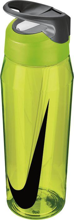 Бутылка для воды Nike TR Hypercharge Straw, цвет: желтый, серый, черный, 946 мл штатив rgk sjw60