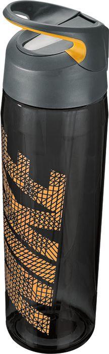Бутылка для воды Nike TR Hypercharge Straw, цвет: серый, оранжевый, 709 млN.OB.E3.061.24Экологически чистая Бутылка для воды Nike TR Hypercharge Straw. Инновационная кнопка-слайдер для открытия/закрытия одной рукой. Съемный мягкий наконечник трубочки для удобства очистки. Удобная эргономичная ручка. Надежная ударопрочная конструкция. Объем 709 мл.