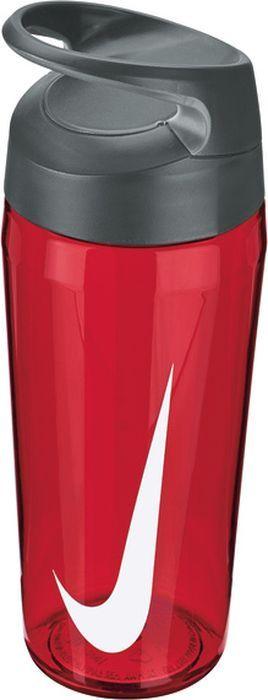 """Экологически чистая Бутылка для воды Nike """"TR Hypercharge Twist"""".Текстурированная откручивающаяся крышка. Удобная эргономичная ручка. Надежная ударопрочная конструкция. Объем 473 мл."""