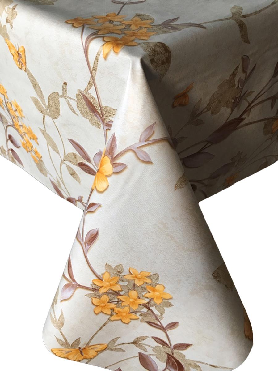 Клеенка столовая LCadesi Florista, прямоугольная, 100 х 140 см. FL100140-373-02FL100140-373-02
