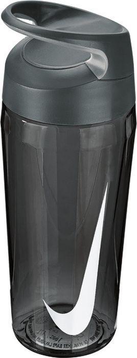 """Экологически чистая Бутылка для воды Nike """"TR Hypercharge Twist"""". Текстурированная откручивающаяся крышка. Удобная эргономичная ручка. Надежная ударопрочная конструкция. Объем 473 мл."""