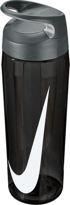 """Бутылка для воды Nike """"TR Hypercharge Twist"""", цвет: серый, белый, 709 мл"""