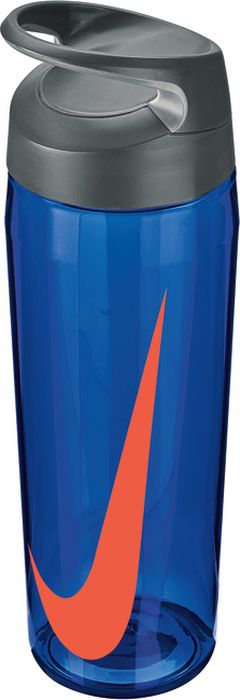Бутылка для воды Nike TR Hypercharge Twist, цвет: синий, серый, красный, 709 млN.OB.E9.404.24Экологически чистая Бутылка для воды Nike TR Hypercharge Twist. Текстурированная откручивающаяся крышка. Удобная эргономичная ручка. Надежная ударопрочная конструкция. Объем 709 мл.