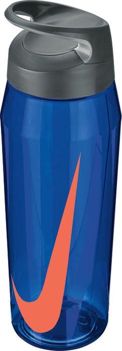 Бутылка для воды Nike TR Hypercharge Twist, цвет: синий, серый, красный, 946 млN.OB.E8.404.32Экологически чистая Бутылка для воды Nike TR Hypercharge Twist. Текстурированная откручивающаяся крышка. Удобная эргономичная ручка. Надежная ударопрочная конструкция. Объем 946 мл.