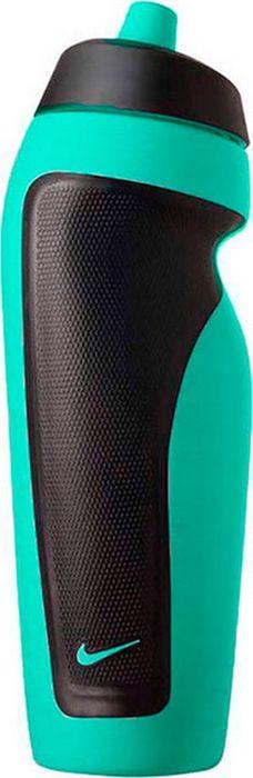 """Экологически чистая Бутылка для воды Nike """"Sport"""" оснащена герметичным клапаном, который не позволяет воде расплескиваться. Ассиметричный дизайн для одной руки обеспечивает удобство при использовании во время тренировок и в спортивном зале. Объем: 600 мл."""