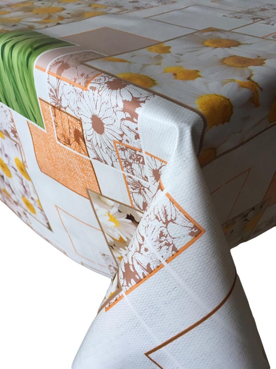 Клеенка столовая L'Cadesi Florista, прямоугольная, 100 х 140 см. FL100140-381-02