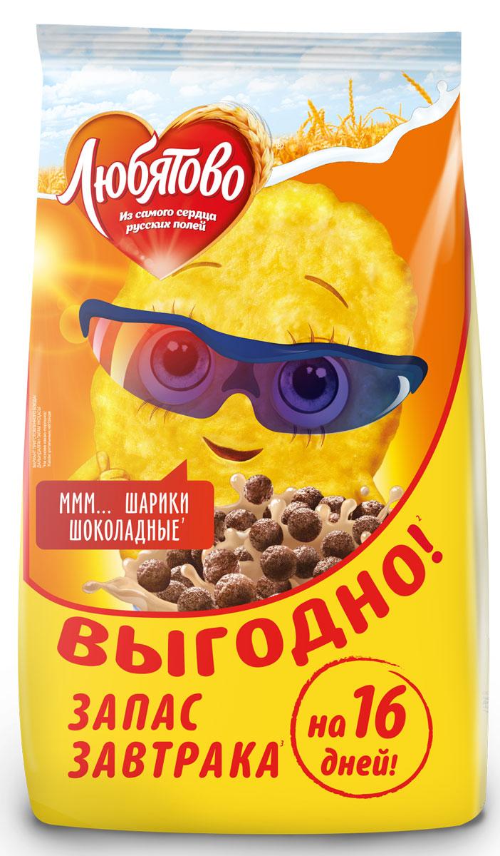 Любятово Шарики шоколадные, 500 г1725