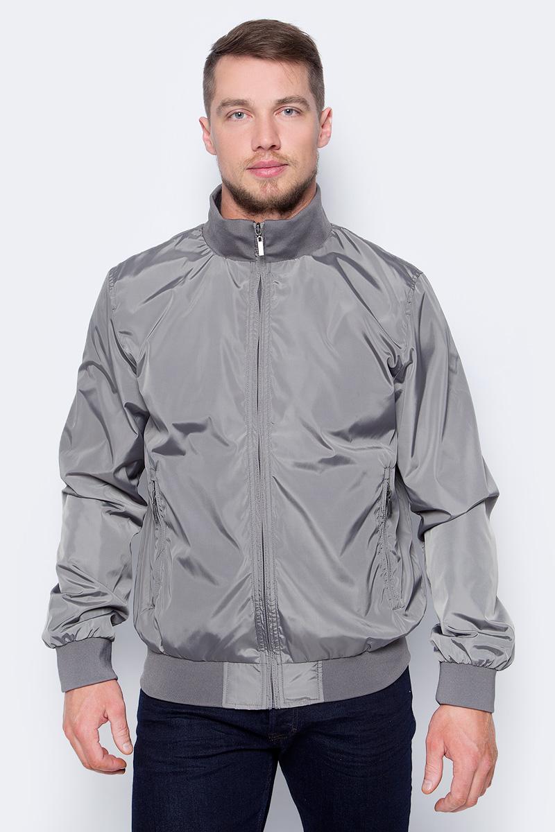 Куртка мужская Sela, цвет: графит. CWB-226/422-8253. Размер M (48)CWB-226/422-8253