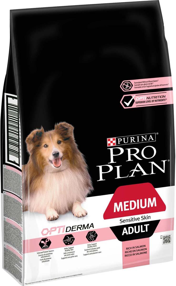 Корм сухой Pro Plan Adult Sensitive для собак с чувствительной кожей, с лососем и рисом, 7 кг сухой корм bosch petfood adult maxi для взрослых собак крупных пород 15кг