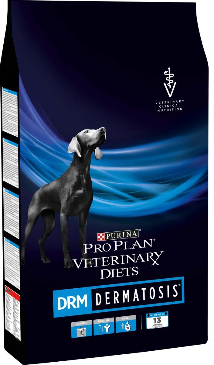 "Корм сухой Pro Plan ""Veterinary Diets. DRM"" для собак, при дерматозах, 3 кг"