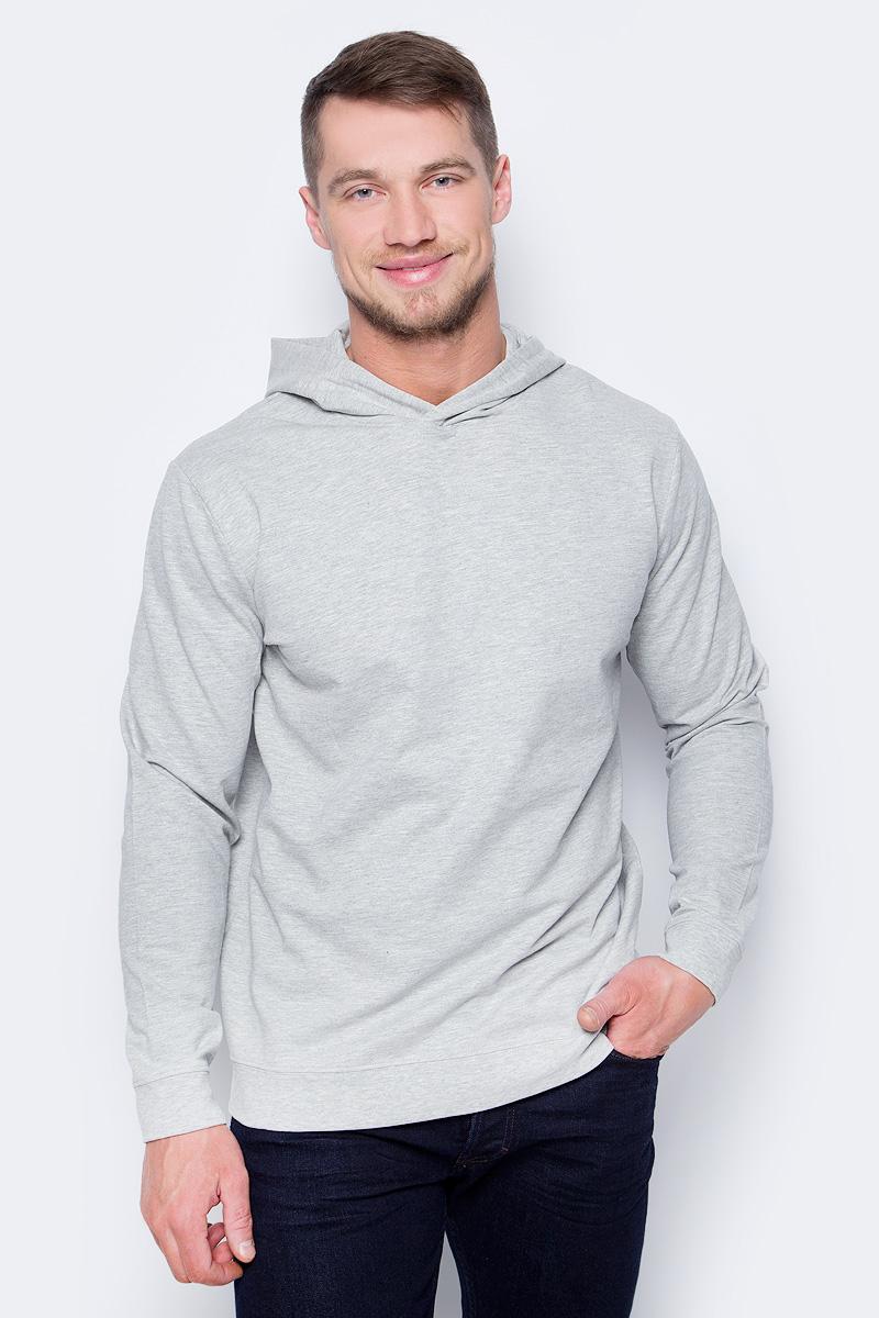 Толстовка мужская Only & Sons, цвет: серый. 22008503. Размер S (46)