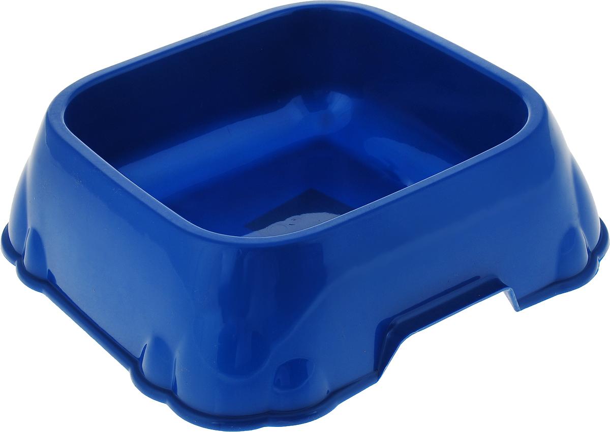 Миска для животных №1, цвет: синий, 1,8 л
