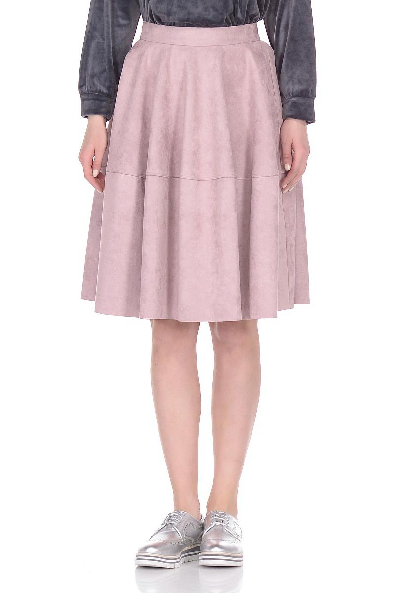 Юбка Lusio, цвет: пудра. SS18-030039. Размер XS (40/42) платье lusio цвет сиреневый ss18 020223 размер xs 40 42