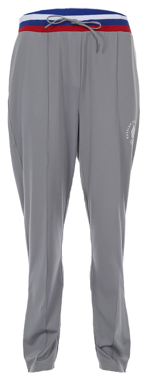 Брюки спортивные мужские ZASPORT, цвет: серый. OMA217-078/004-GRY. Размер L (48)OMA217-078/004-GRYСпортивные брюки от ZASPORT выполнены из хлопкового трикотажа. Модель прямого кроя с эластичной резинкой на талии и регулируемым шнурком. Брючины по низу дополнены молниями.