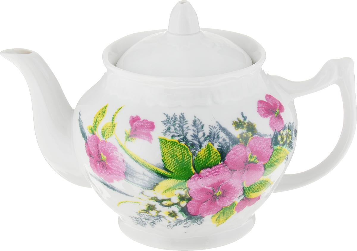 Чайник заварочный Фарфор Вербилок Виола. 1475075014750750Для того чтобы насладиться чайной церемонией, требуется не только знание ритуала и чай высшего сорта. Необходим прекрасный заварочный чайник, который может быть как центральной фигурой фарфорового сервиза, так и самостоятельным, отдельным предметом. От его формы и качества фарфора зависит аромат и вкус приготовленного напитка. Именно такие предметы формируют в доме атмосферу истинного уюта, тепла и гармонии. Можно ли сравнить пакетик с чаем или растворимый кофе с заварными вариантами этих напитков, которые нужно готовить самим? Каждый их почитатель ответит, что если применить кофейник или заварочный чайник, то можно ощутить более богатый, ароматный вкус этих замечательных напитков.
