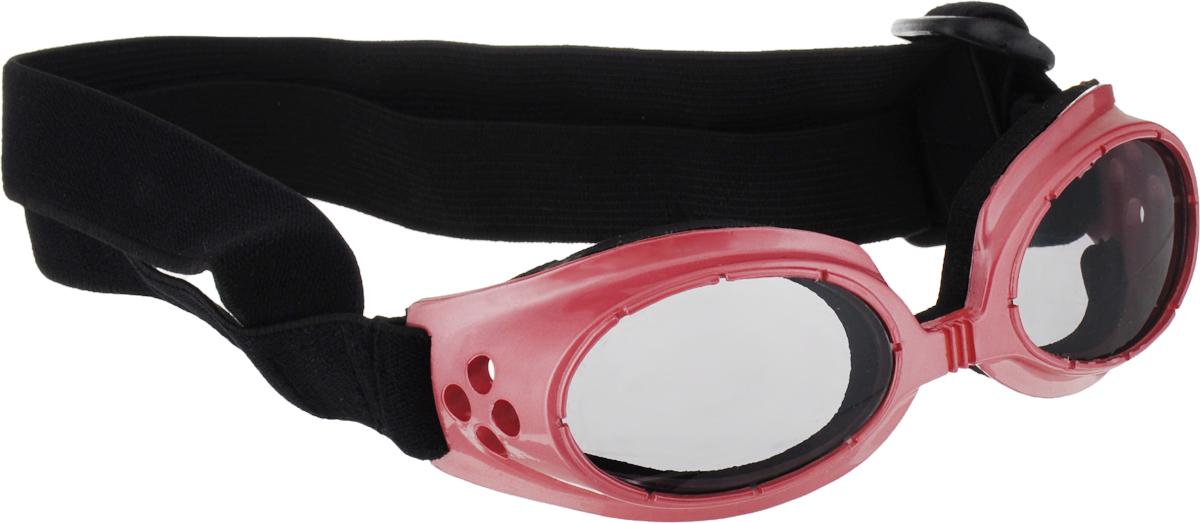 Очки для собак Camon, затемненные, цвет: темно-розовый солцезащитные очки