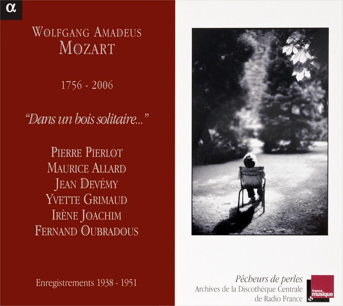 W.a. Mozart. Dans Un Bois Solitaire solitaire