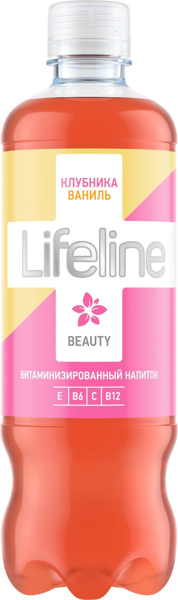 Lifeline Beauty клубника, ваниль, 0,5 л витаминные комплексы алтайфлора пантогематоген драже жизненная сила мужчины
