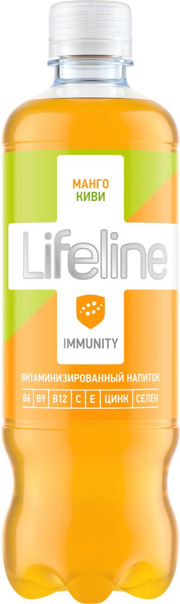 Lifeline Immunity манго, киви, 0,5 л витаминные комплексы алтайфлора пантогематоген драже жизненная сила мужчины