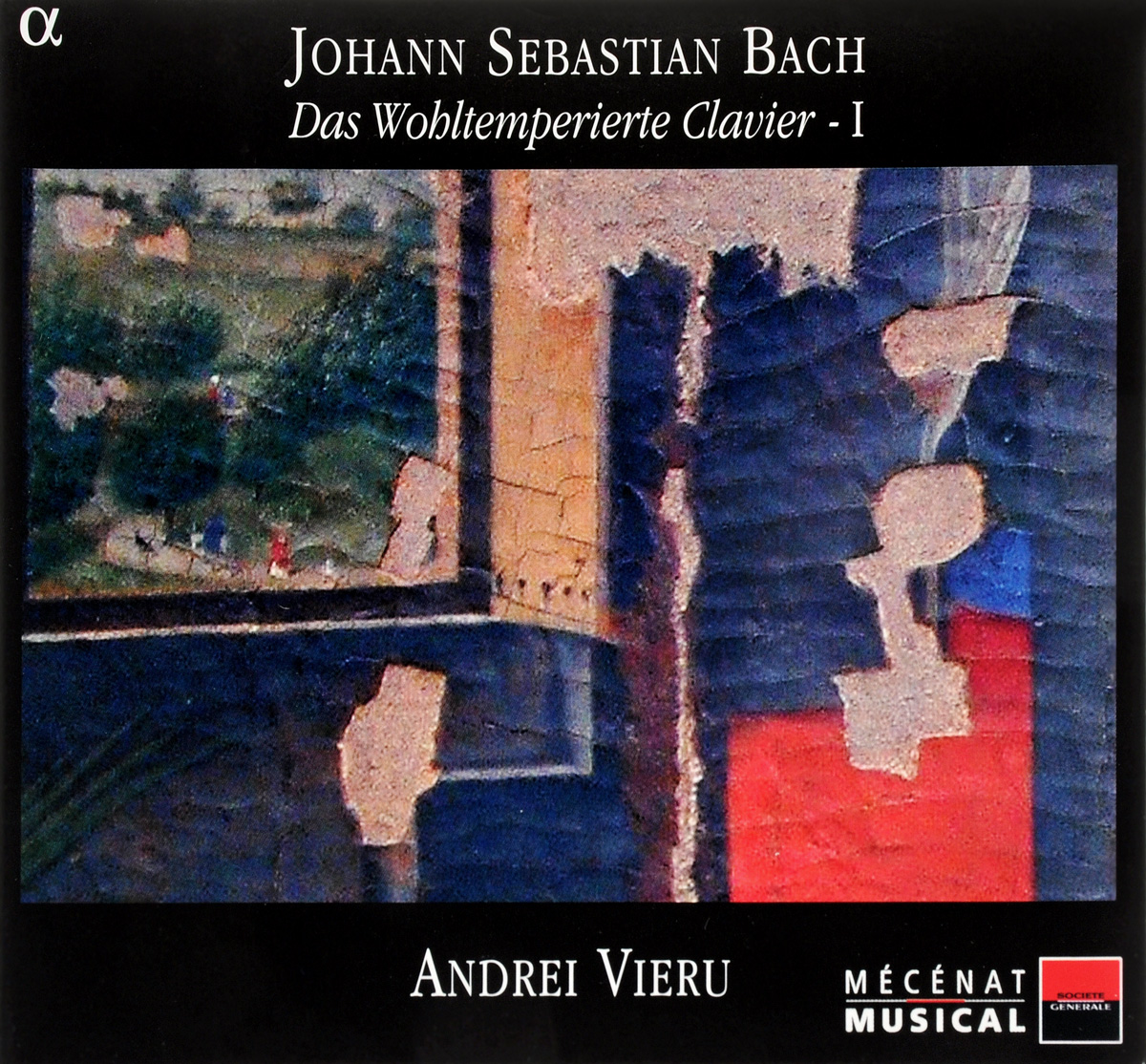 Johann Sebastian Bach - Andrei Vieru. Das Wohltemperierte Clavier - I (2 CD) andrei ivanov kuutõbise pihtimus