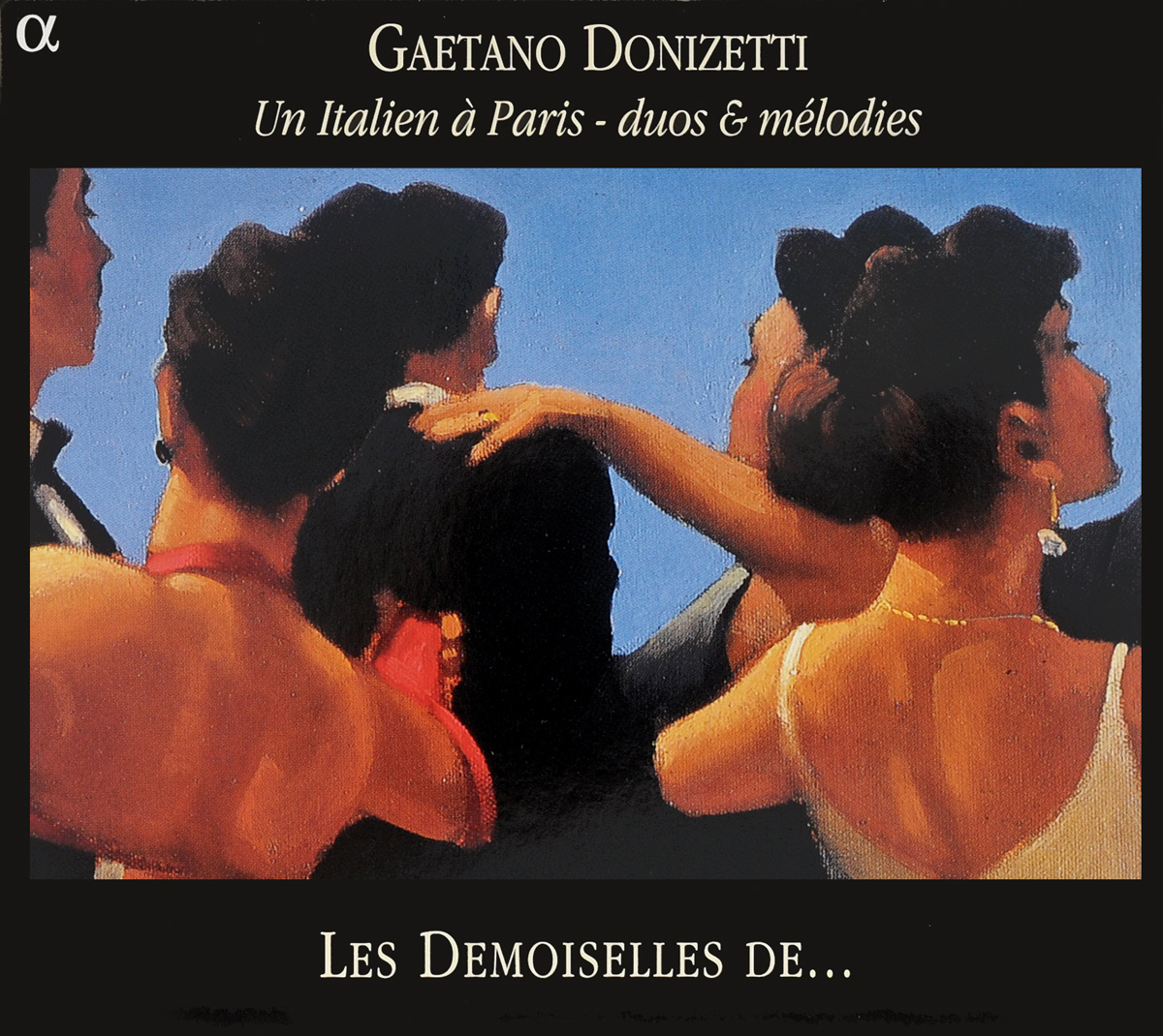Gaetano Donizetti - Les Demoiselles De ... Un Italien A Paris - Duos & Melodies caballe c donizetti