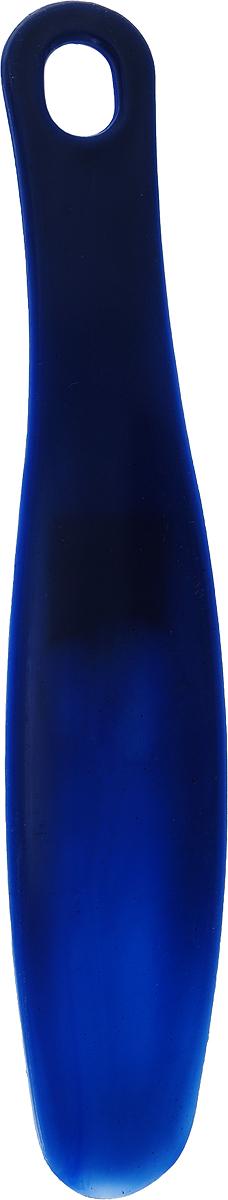 Ложка для обуви Эффектон, цвет: синий, 22,5 см креманка для десертов 100г ложка 13 см 1168246