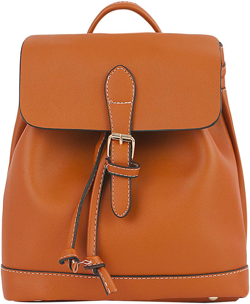 Рюкзак женский Kawaii Factory, цвет: коричневый. KW102-000345