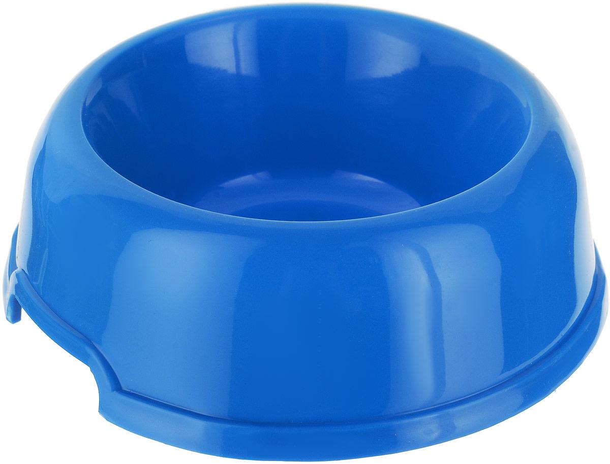 Миска для животных №1, цвет: голубой, 250 мл миска для животных 1 цвет ярко коралловый 800 мл