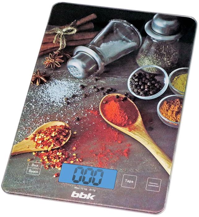 BBK KS100G весы кухонные - Кухонные весы