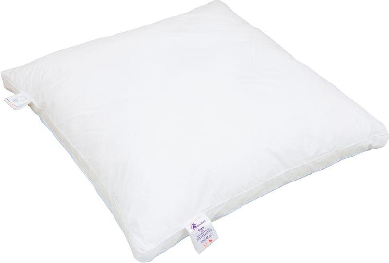 Подушка Revery Duett, наполнитель: пух, цвет: белый, 50 х 70 см детские покрывала подушки одеяла revery детская подушка mediflex kids мурзилка от 24 месяцев