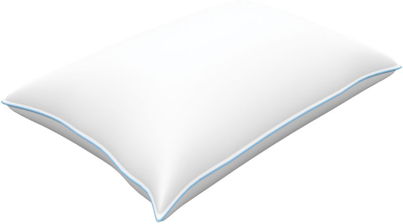 Подушка Revery Darling, наполнитель: пух, цвет: белый, 50 х 70 см
