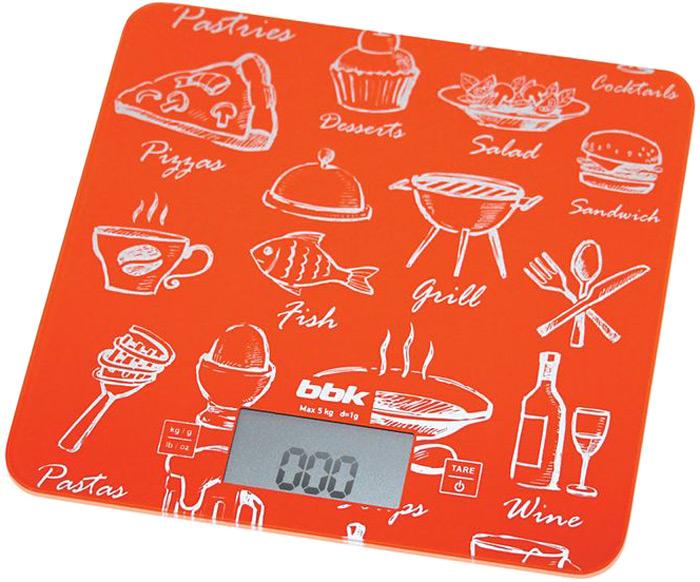 BBK KS108G весы кухонные