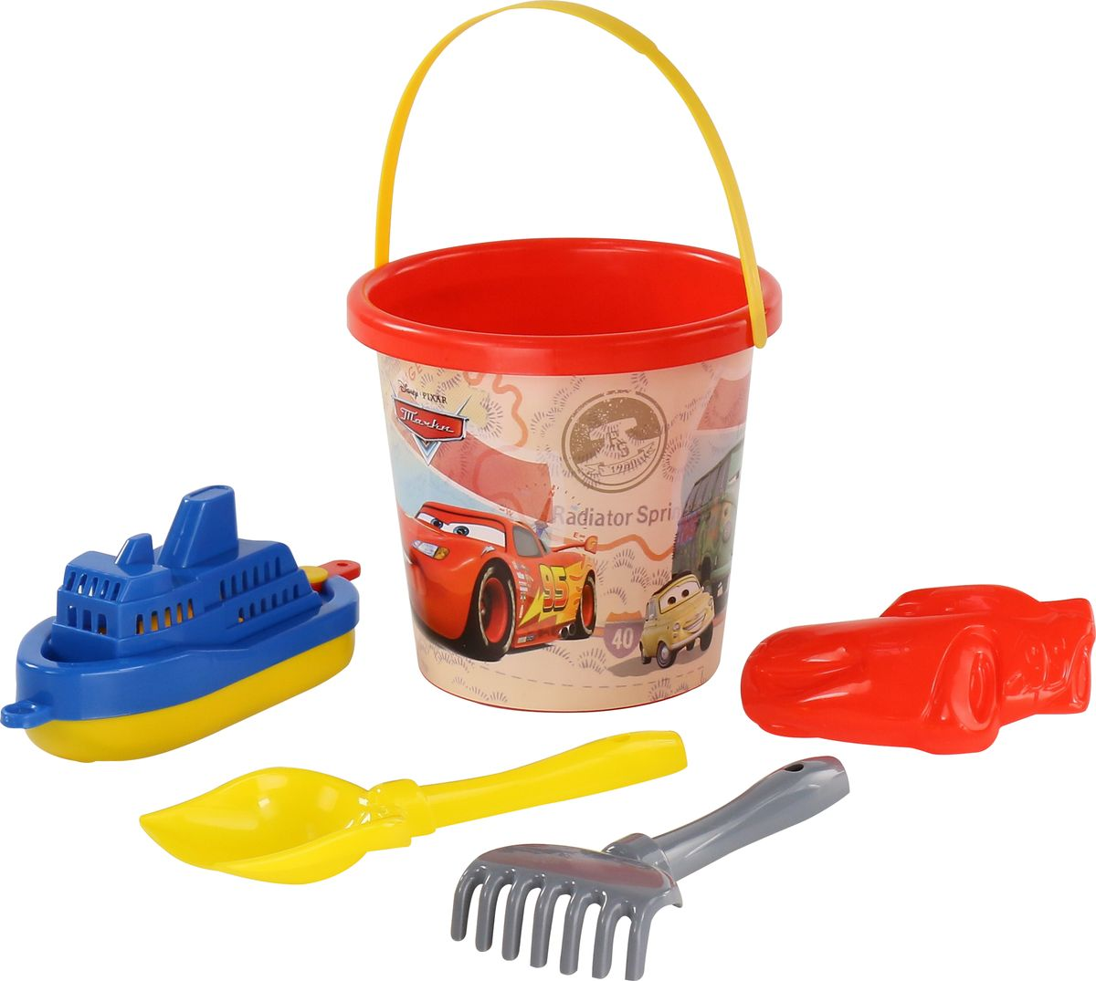 Disney / Pixar Набор игрушек для песочницы Тачки №18 disney pixar набор игрушек для песочницы тачки 18