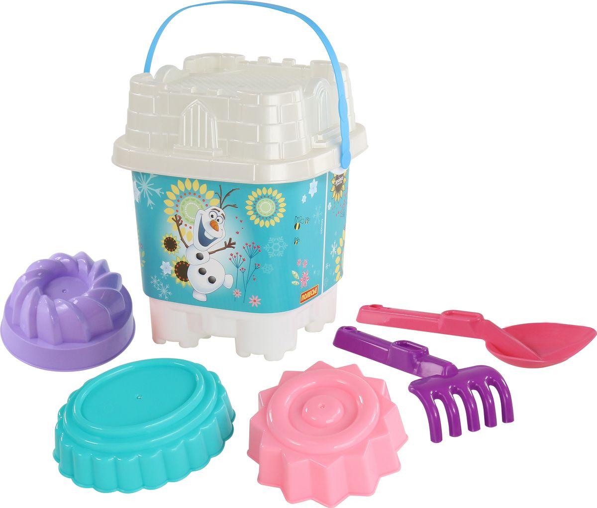 Disney Набор игрушек для песочницы Холодное сердце №17 marvel набор игрушек для песочницы софия прекрасная 1